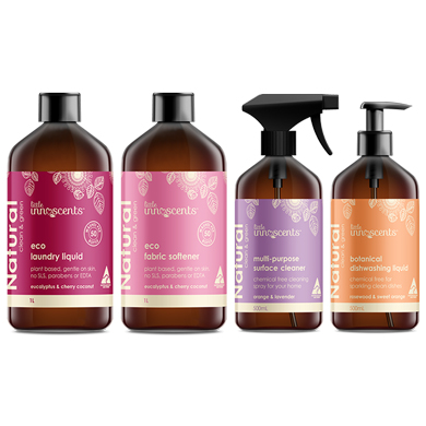 Natural Home Cleaning and Laundry Range