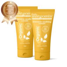 Organic Intensive Soothing Nappy Rash Skin Cream - 2 pack