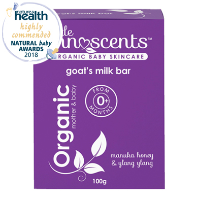 Organic Goat's Milk Soap for Babies