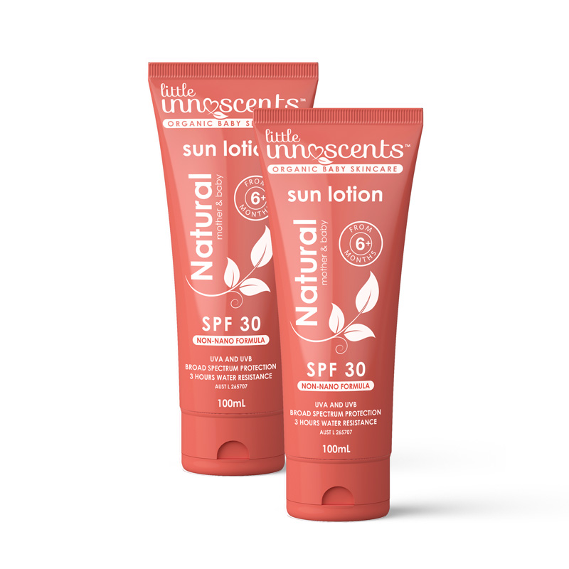 100ml Sun Lotion 2 pack