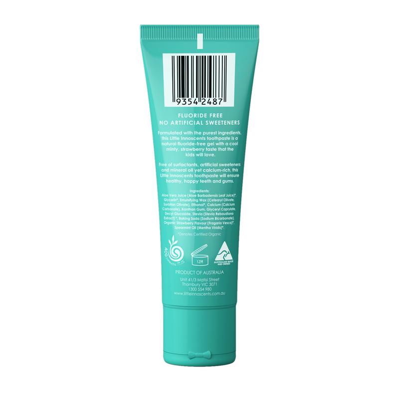 Organic Flouride Free Toothpaste