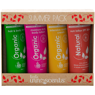 Organic Summer Baby Travel Pack