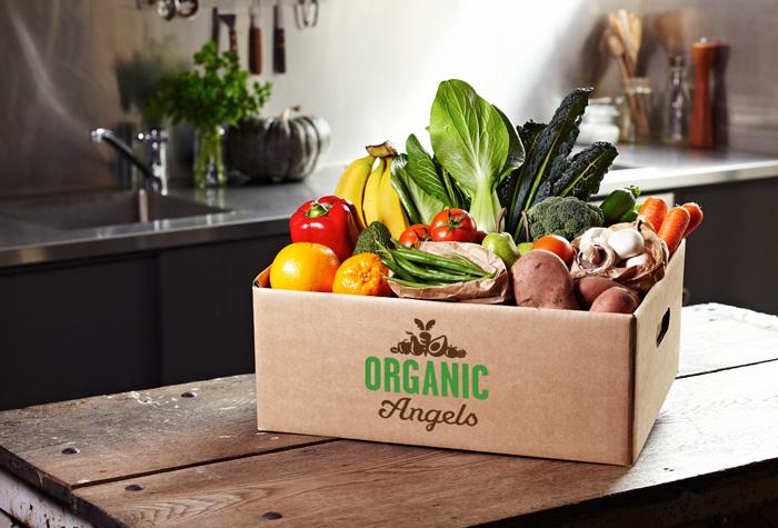 Organic Angles Fruit and Vegetable Box