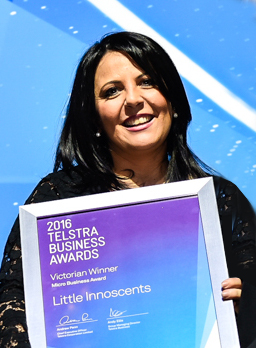 Little Innoscents win Telstra Micro Business Award