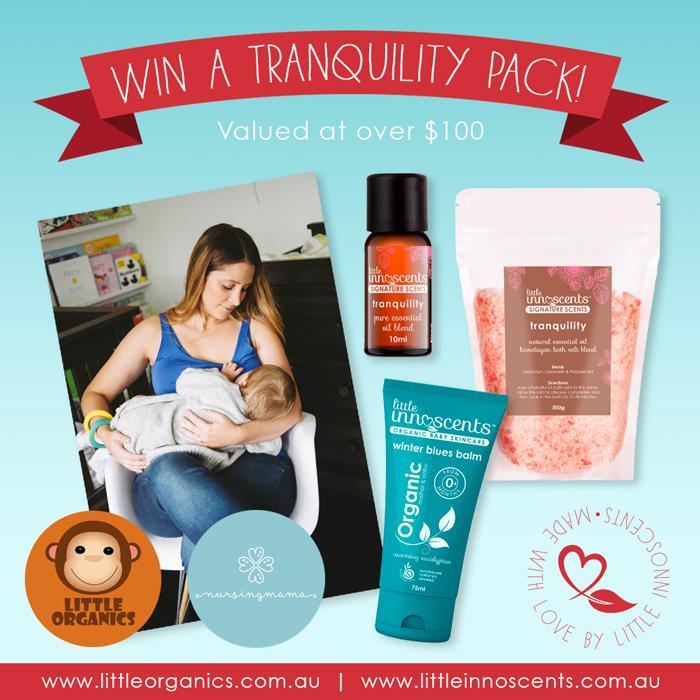 Tranquility Nursing Pack Giveaway