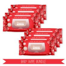 Baby wipe quarterly subscription bundle